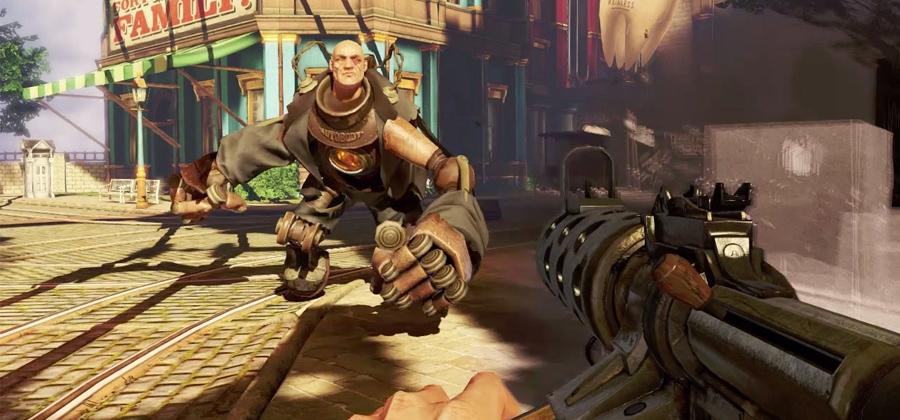 gameplay bioshock infinite