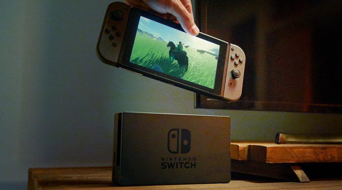 pantalla tactil nintendo switch