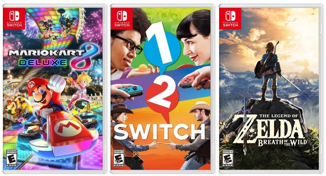 portas juegos switch