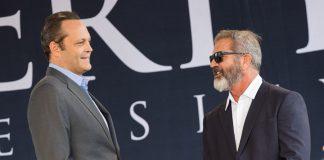 Mel Gibson y Vince Vaughn juntos