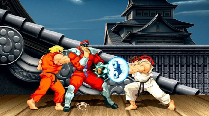 primera persona en ultra street fighter II