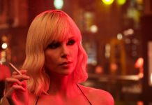 charlize theron en atomic blonde