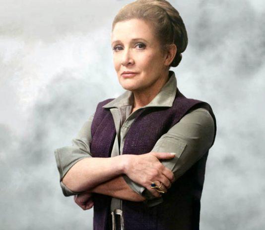 Carrie Fisher estará en el Episodio IX
